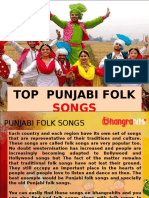 Hit Punjabi Folk Songs