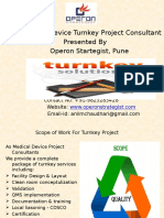 Medical Device Turnkey Project