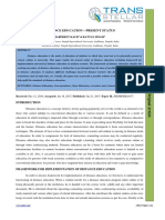 7. Edu Sci - IJESR-Distance Education – Present Status
