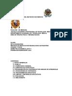 T12215 - Metodos de Reeducacion Neurologica en Pediatria
