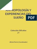 Antropologia y Experiencias Del Sueno