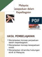 Bab 1- Malaysia Dalam Kepelbagaian
