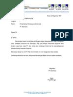 Surat Pengajuan Direksi Kit