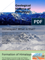 geological history