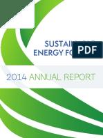 SE4ALL 2014 Annual Report Final