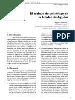 Dialnet ElTrabajoDelPsicologoEnLaUnidadDeAgudos 4830450[1]