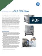 Xcellerex XDUO 2500 Mixer Datafile 29153543