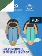 Brochure Prevención de Depresión y Demencia