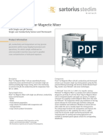 Data Standard Flexel for MagneticMixer With Single-use PH-Sensor SPT2025-e