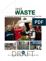 Draft New York State Solid Waste Management Plan