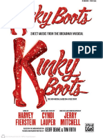 Kinky Boots - Vocal Selections