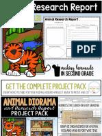 animalresearchreportprintables