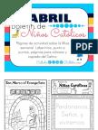 Abril 2017 Boletin de Catolicos Ninos