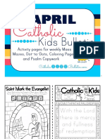 2017 April Catholic Kids Bulletin