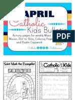 2017 April Catholic Kids Bulletin