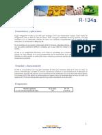 Ficha t Cnica r134a