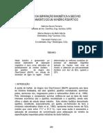 Separação Magnética a Seco - Galvani - Ba