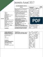 Planejamento Anual Futsal