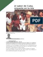 El Heraldo- El Son de Cuba