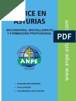 Lomce Asturias Secundaria