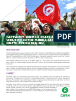 Women, Peace and Security in the Middle East and North Africa Region