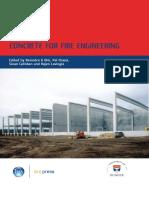 BRE Concrete Fire Engineering Proceedinginternational Conference Held at University of Dundee Scotland UK Jul 2008