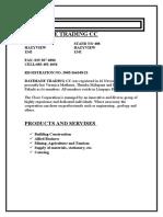 Company Profile for Dayimane