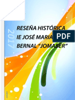 RESEÑA HISTORICA  JOMABER