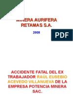 MARSA - Accidente Fatal Eléctrico (2008.06.26).ppt