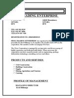 Company Profile for Erol