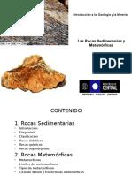 6 Introd Geologia y Mineria - Rocas Sedimentaria y Metamórficas