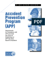 Accident Prevention Program