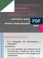 Entorno Macroeconomico Unidad 5