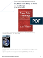 Book Review_ Power, Order and Change in World Politics (Edited by J