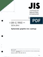 JIS G 5502 - 2001