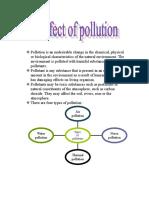 Biology Pollution