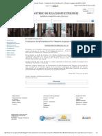 Ampliación Comunicados Prensa - Finalización de La Presidencia Pro Témpore Uruguaya Del MERCOSUR