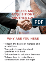 4. Mergers and Acquisitions- Another Look
