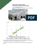 Resumen sobre sismo en China