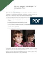 Técnica Del Espejo Para Mejorar El Autoconcepto y La Autoestima
