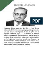 Biografia Claude Lévi