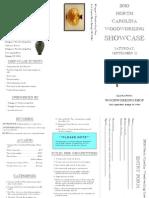 2010 NC Woodworking Showcase Brochure