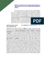 Jurisprudencias - Acuerdo Verbal