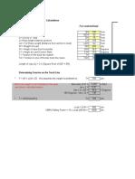 Highline Tension Spreadsheet Calculator