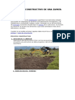 Proceso Constructivo de Una Zapata
