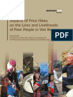 Impact of Price Hikes on the Lives and Livelihoods of Poor People in Viet Nam