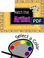 Match that Artist.ppt