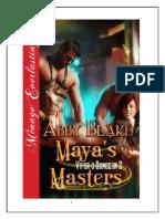 Abby Blake Maya's Masters 2