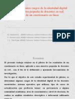 Analisis de algunos rasgos de identidad digital