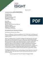 March 16, 2017 - American Oversight FOIA Request to DOJ (DOJ-17-0029)